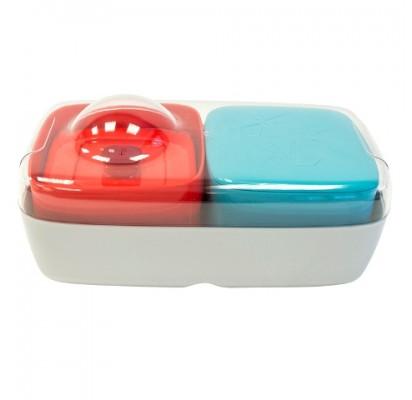 Compleat Optimal Madkasse, rød og blå