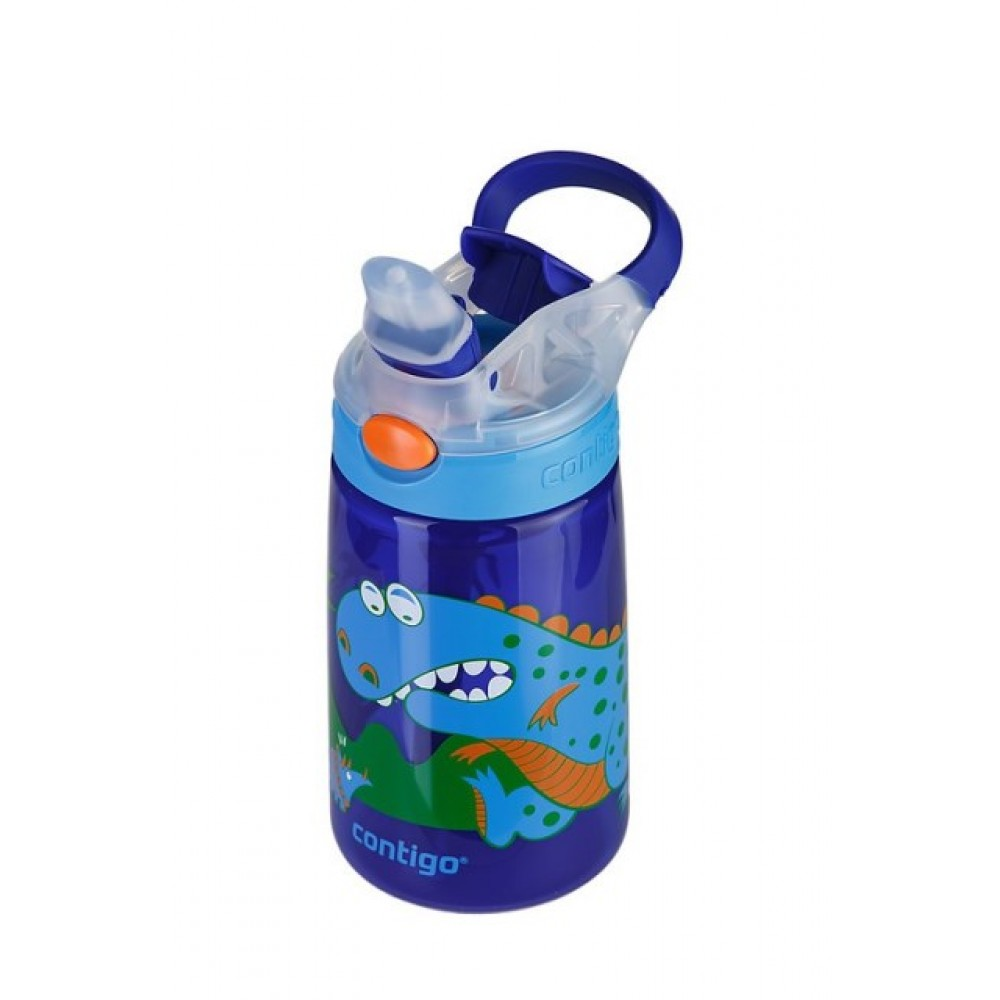 Contigo Kids Water Bottle Gizmo Flip Dinosaur