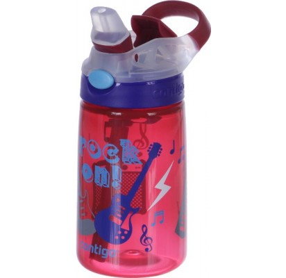Contigo Kids Water Bottle Gizmo flip Cardinal rock