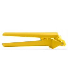 "Dreamfarm Garlic press ""Garject lite"", yellow"