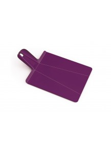 Joseph Joseph cutting board Chop2pot, purple
