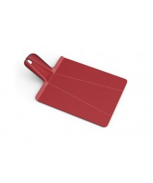 Joseph Joseph cutting board Chop2pot, red