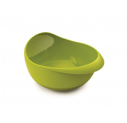 "Joseph Joseph Large 2in1 bowl and strainer ""Prep&Serve"", green"
