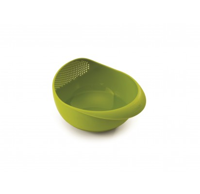 "Joseph Joseph Small 2in1 bowl and strainer ""Prep&Serve"", green"