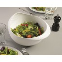 "Joseph Joseph Large 2in1 bowl and strainer ""Prep&Serve"", white"
