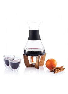 XD Design Glu Mulled Wine Set & Glasses