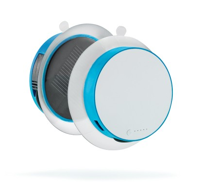 XD Design Window Solar Charger 'Port', blue