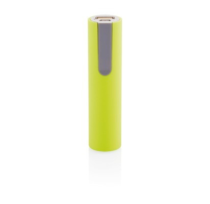 Loooqs Portable battery 2200 mAh, lime