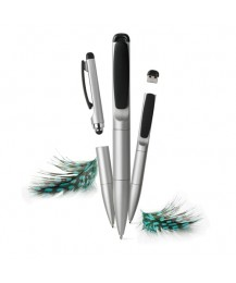 "XD design 3in1 pen ""Stylo"", silver"
