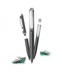 "XD design 3in1 pen ""Stylo"", grey"