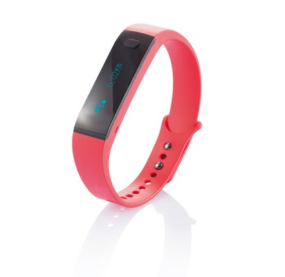 Loooqs Smart activity tracker, red