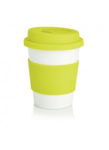 Loooqs Eco cup, lime green
