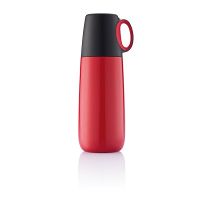 XD Design vacuum bottle Bopp Hot, red