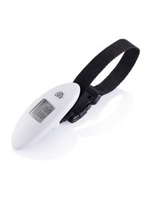 Loooqs Digital luggage scales, white