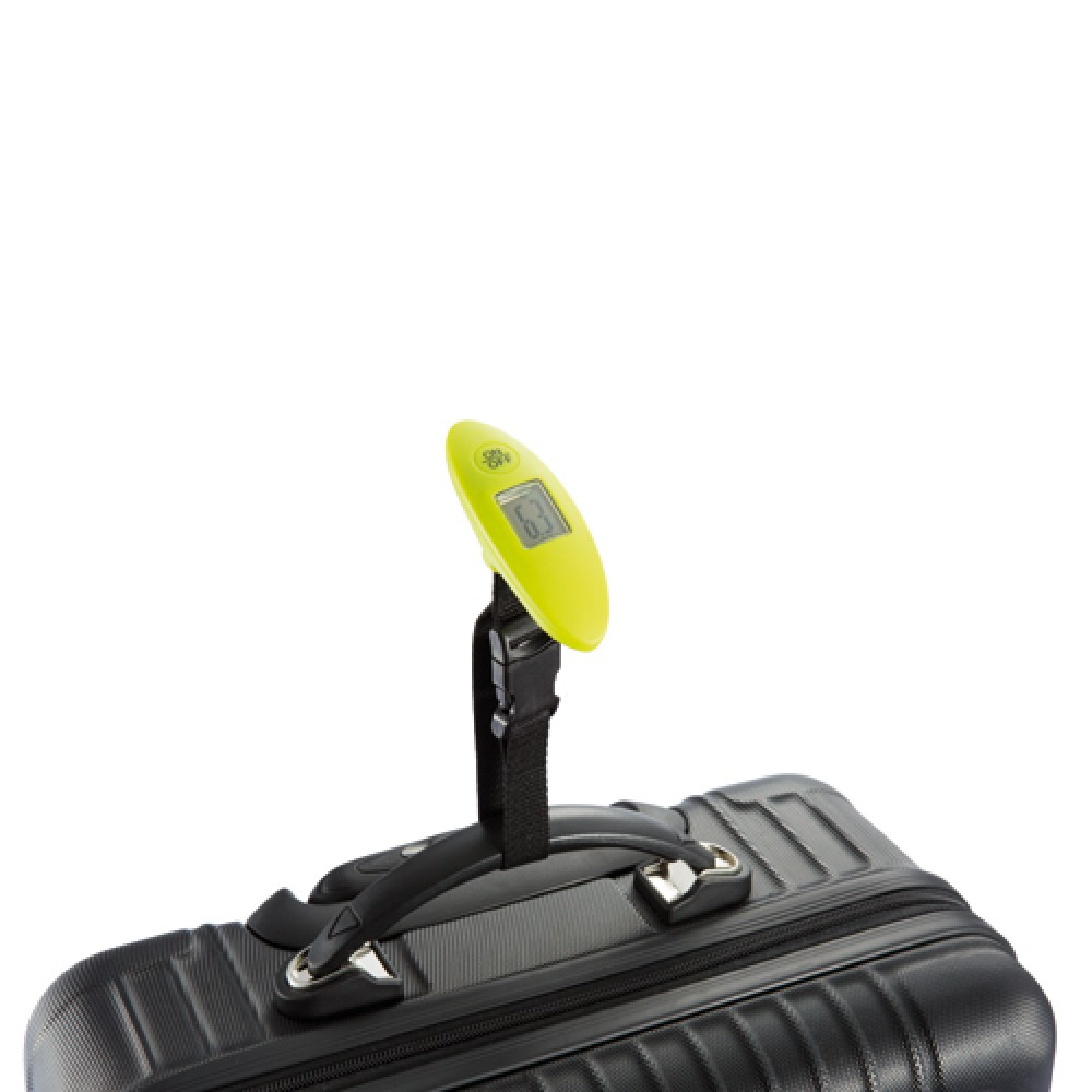 Digital luggage scales, lime