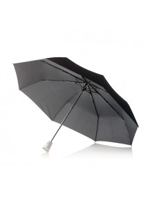 "XD Design 2in1 auto open/close umbrella ""Brolly"", white"