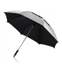 XD Design 'Hurricane' Storm Umbrella 27', grey