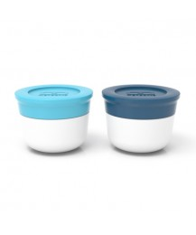 Monbento Sauce cups Temple S, blue/light blue