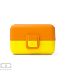 Monbento Food boxes set Tresor, yellow