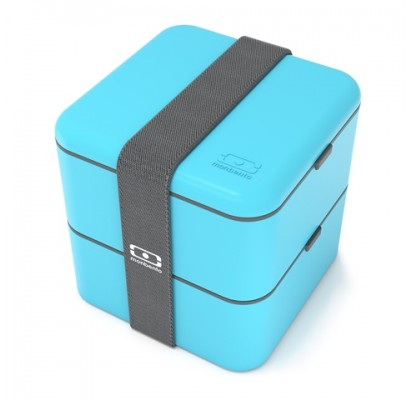 Monbento Lunch box Square, blue