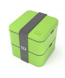 Monbento Lunch box Square, green