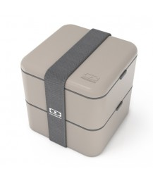 Monbento Lunch box Square, grey