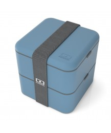 Monbento Lunch box Square, denim