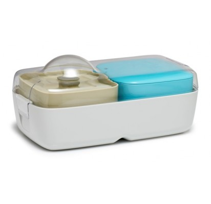 Compleat Optimal - Lunchbox, grey and blue