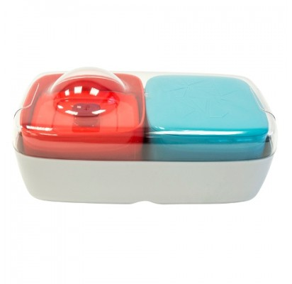 Compleat Optimal - Lunchbox, red and blue