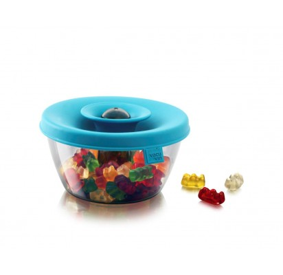 Vacuvin PopSome Container, blue