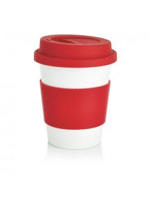 Loooqs Eco cup, red