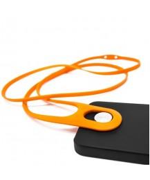 Safe+ Telefono laikiklis Leash, oranžinis
