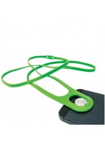 Safe+ Telefono laikiklis Leash, žalias