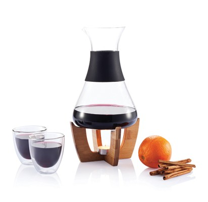XD Design Glu Mulled Wine Set & Glasses